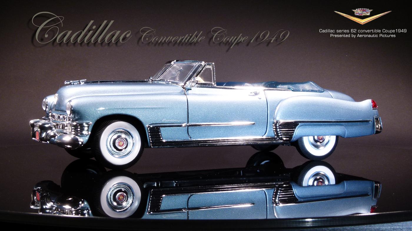 1:18 Bos Cadillac Series 62 Club Coupe 1946 bluemetallic//Grey